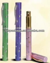 cheap pen shape aluminum perfume spray bottle made in China