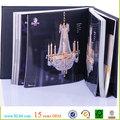 La decoración de la lámpara de impresión del catálogo, impresión del catálogo