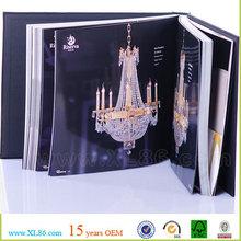 Decoration lamp catalog print, product catalog printing
