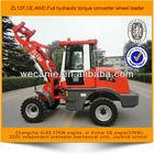 ZL12F wheeled loader,mechanical pilot, hydraulic,Joystick control loder,CE and 4WD wheeled loader
