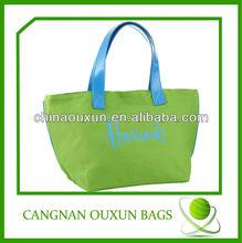 Customize 100% cotton canvas print tote bag