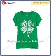 Custom printed children t shirts short sleeve tee design