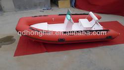 CE rigid inflatable boat RIB360 with korea pvc