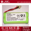 BT-162342 ni-mh 2.4v battery pack for cordless phone batteries , toys