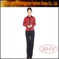 Restaurante moderno uniformes/bar maid restaurante uniforme