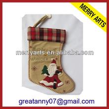 2015 new product wedding decoration felt christmas stockings cheap christmas stockings wholesale