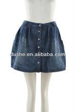Hot sell girls short denim skirts jean skirt S131212