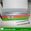 Zinc galvanized concrete nail product