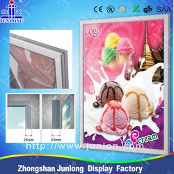 Commercial advertising LED light box,edge-lit,single side,double sided poster frame