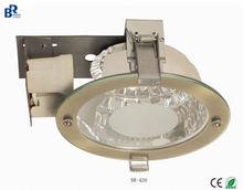 Newly developed iron 2*E27/PLC 4/6/8 inch down light /Spot light