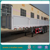 Low Price China 3Axles Cargo Trailer with leaf spring