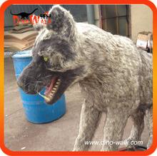 Animatronic animal wolf 1.5 meters long