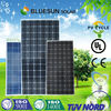 Bluesun cheap price and high quality 5000 watt solar panel approved TUV best CIF price