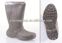 Cómodo inyección pintado a mano botines para exterior y promoción, luz y comforatable