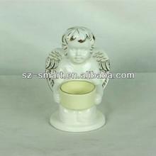 Candle holder indoor decoration angel statue