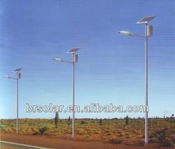 CE& Rohs & SONCAP 10M Pole 50W Solar LED Street Lite