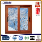 africa style aluminium sliding window with fly screen