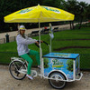 China three wheel electric ice cream bicycle for sale