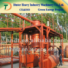 hot sale! for used motor oil to diesel distillation machine with high oil rate of 82%-90%