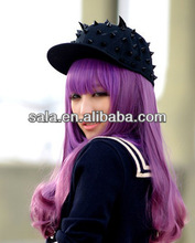 China Wholesale Purple Wig Light Purple Cosplay Wig Purple Cosplay Wig Cheap