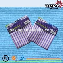 Microfiber stripe tea towel fabric