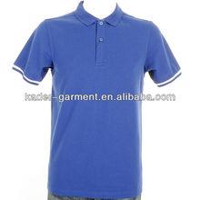 blue polo shirt cotton polo tipped polo shirt