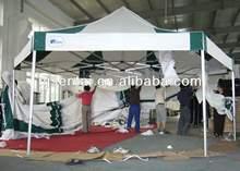 waterproof canopy pvc roof/gazebo for patio/ Aluminum Folding Gazebo