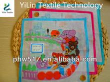 453K-2 Cotton Children's baby handkerchiefs custom export