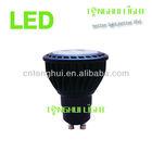 high power heatsink plastic smd led GU10 7*1w 480lm