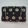 beaded evening bags hard case clutch bag handbags ladies trendy pearl party bags EB285