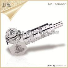 HW 2014 new product vapor electronic cigarette hammer fighting