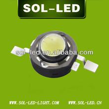 High Power LED 1W Component 350mA 110-130lm 1W