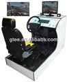 Simulador de formación de conducción para coche económico