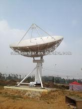 9.0m aluminium mesh dish satellite antenna