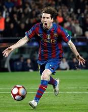 High resolution football star player Messi lenticular 3d poster