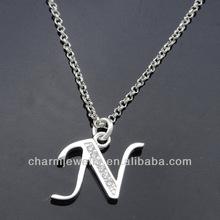 Wholesale lovely new Design Alphabet Charms N PCC-003