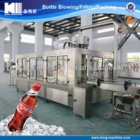 PET / glass bottle carbonated drink manufacturing plant