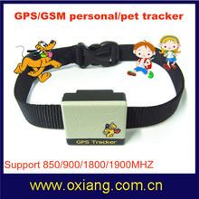 gps cat/dog/pet/kids tracking chip collars
