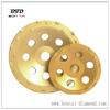 PCD cup wheel /diamond grinding tool 24 segments