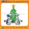hot vente décoration de la publicité gonflable arbre de noël