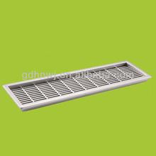 Venta caliente de alta calidad de plástico astilla de sistema de ventilación de plástico 227mm largo de aire de ventilación( vh1711)