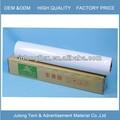 Económico de automoción vinilo 120 micras 140g auto-adhesivo de la película de plástico