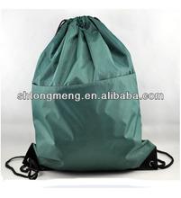 Promotion Reflective drawstring cinch back sports bag