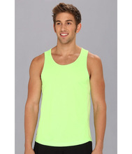 customized dri fit solid color gym tank top