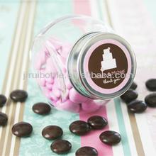 personalized wedding favor candy jar