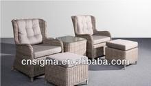 2014 Antique Garden Sunbath Chaise Lounge Deluxe Indoor Sofa Sets