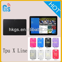 Rubber Tpu X Line Case Cover For Samsung Galaxy Tab Pro 12.2 Lte