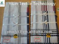 430AD White Polyester cotton Men's africa handkerchiefs custom export