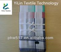 430AD-2 White Polyester cotton Men's africa handkerchiefs custom export