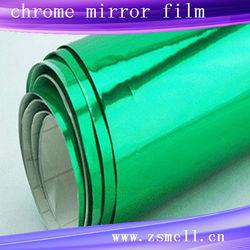 Hotselling colorful Chrome wrap car vinyl film,car wrap chrome,car chrome film 1.52*30m car wrap film
